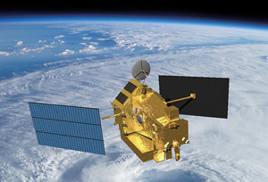 Satélite Tropical Rainfall Measuring Mission (TRMM) - Foto: Nasa/Wikimedia Commons