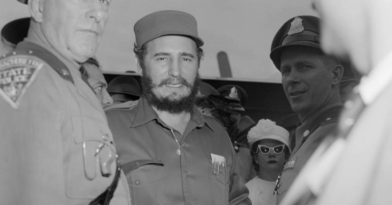 Fidel Castro - Foto: Leslie Jones Collection/ Boston Public Library (sem data definida)