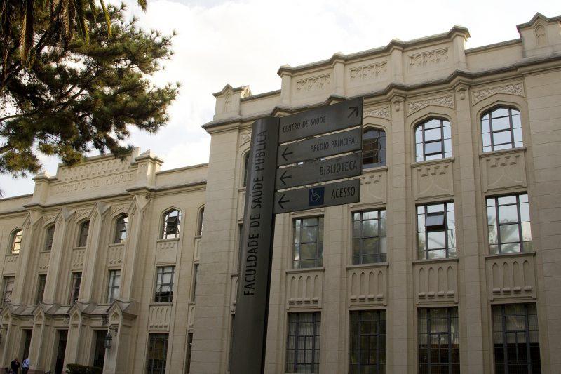 prédio da Faculdade de Saúde Pública (FSP). Foto: Marcos Santos / USP Imagens