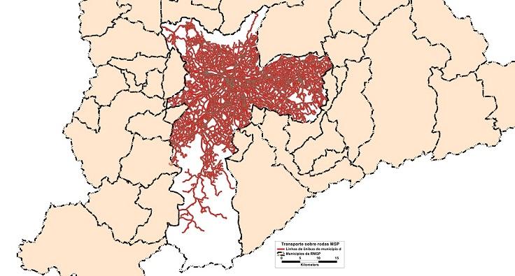 Informação Geográfica - Mapa: Centro de Estudos da Metrópole (CEM)/