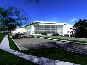 O projeto do Centro de Convenções foi desenvolvido pelo arquiteto Paulo Bruna - Foto: Divulgação