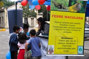 Campanha de férias já realizou cerca de 500 atendimentos aos visitantes do parque do campus | Foto: Carlos Alberto Perez