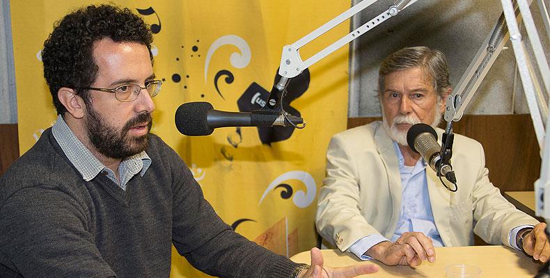 Glauco Perez da Silva e José Augusto Guilhon Albuquerque - Marcos Santos / USP Imagens