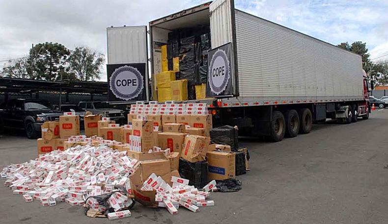 Mercadorias apreendidas pela Receita Federal do Brasil - Foto: Divulgação/RFB