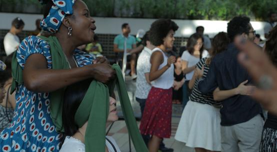 Refúgios Culturais, no Sesc, com oficina de turbantes e show do grupo Os Escolhidos, do Congo - Foto: Rose Satiko Gitirana Hikiji/RSGH