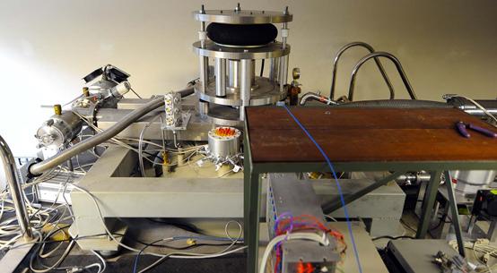 Detector de opndas gravitacionais Mario Schenberg - Foto: Marcos Santos/USP Imagens
