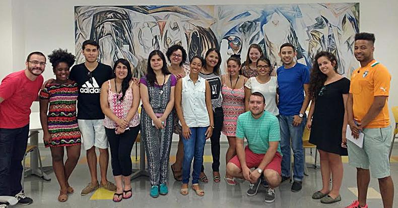 Alunos estrangeiros na USP - Foto: Divulgação/FEUSP