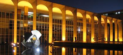 Palácio do Itamaraty (sede Ministério das Relações Exteriores), em Brasília - Foto: Xenia Antunes/Wikimedia Commons
