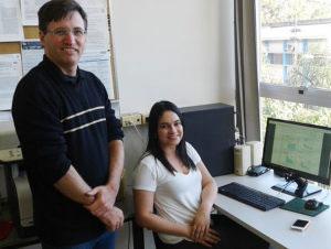 Renato Tinós e Ariadne de Andrade Costa - Foto: Divulgação/FFCLRP