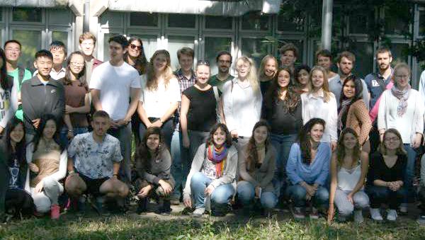 Estudantes de intercâmbio da FFLCH - Foto: Divulgação/ FFLCH-USP