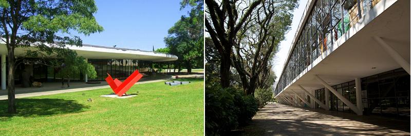 Museu de Arte Moderna (MAM) e Museu Afro Brasil - Fotos: Dornicke e Nicolas Camaret/Wikimedia Commons