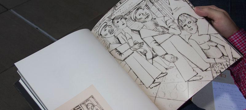 """Lasar Segall, ilustração do livro """"Invenção de Orfeu"""" - Foto: Marcos Santos/USP Imagens"""