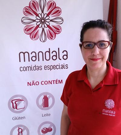 Adriana Fernandes, da Mandala Comidas Especiais - Foto: Divulgação