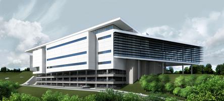 Ilustração do Centro de Convenções