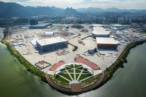 Visão geral do Parque Olímpico da Barra. Foto: André Motta/Brasil2016.gov.br