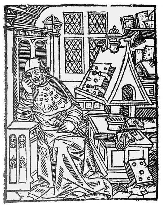 Escritor medieval Chrétien de Troyes – Imagem: Wikimedia Commons