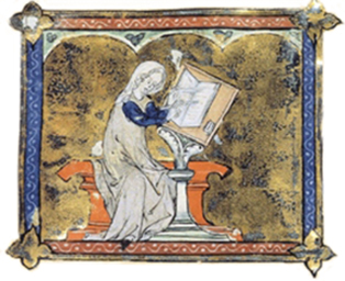 Marie de France, escritora medieval – Imagem: Wikimedia Commons