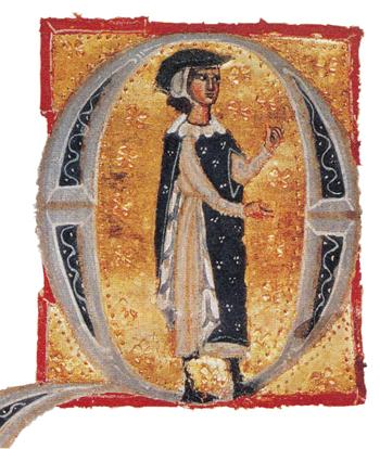 Poeta provençal Bernard de Ventadour –Iluminura: Wikimedia Commons