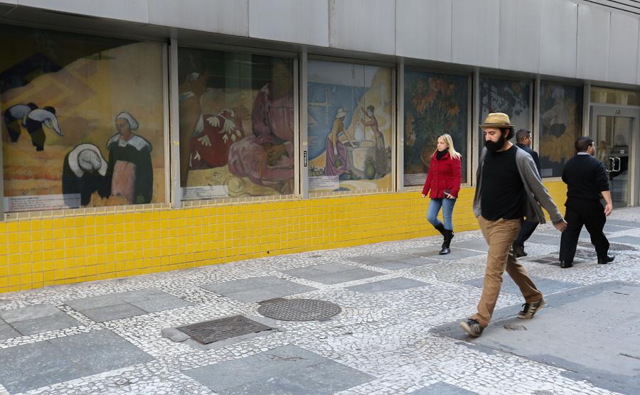 """Exposição O triunfo da cor """"O pós-impressionismo: obras-primas do Musée d'Orsay e do Musée de l'Orangerie"""", no Centro Cultural Banco do Brasil - Foto: Cecília Bastos/Usp Imagem"""