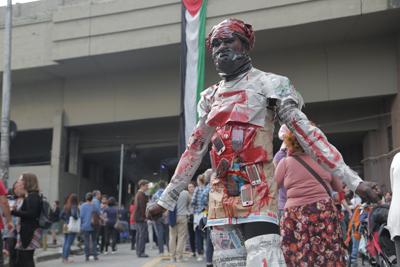 """""""Não à guerra do Congo"""" - Foto: Divulgação"""