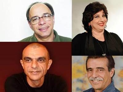 Em sentido horário: Carlos Palma, Cristina Mutarelli, João Signorelli e Walter Breda - Foto: Divulgação