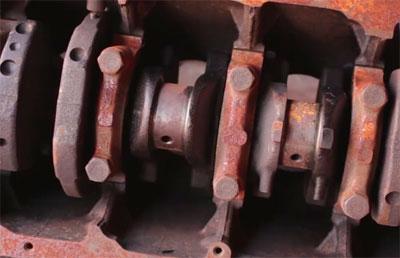 Componentes do motor - Foto: Reprodução