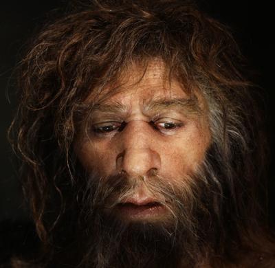 Entre 100 e 50 mil anos atras, a espécie humana adquiriu a capacidade de expressar ideias e conceitos através de palavras - Foto: Neanderthal Museum