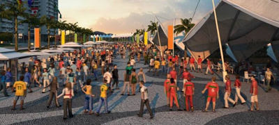 Perspectiva da Vila Olímpica das Olimpíadas Rio 2016 - Foto: Divulgação/Rio 2016