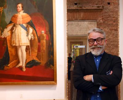 Tadeu Chiarelli, diretor da Pinacoteca. Foto: Cecília Bastos/USP Imagens