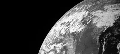 Imagem da Terra feita pela sonda Juno - Foto: Wikimedia Commons
