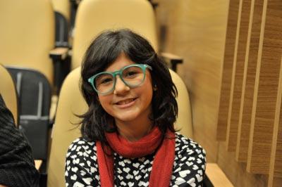 Isadora, de dez anos: sonho de ser pianista - Foto: Divulgação
