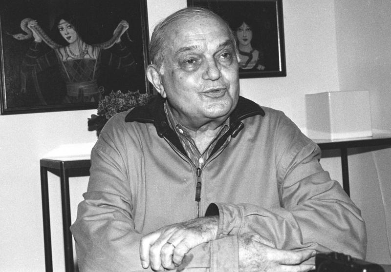 Sábato Magaldi, em 2000 - Foto: Osvaldo J. Santos/Arquivo Jornal da USP