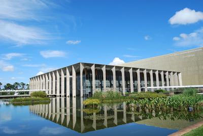 Palácio Itamaraty, em Brasília - A C Moraes/Wikimedia Commons