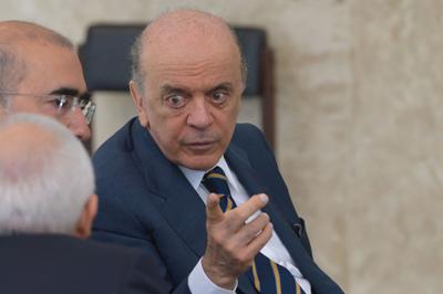 O Ministro das Relações Exteriores, José Serra - Foto: José Cruz/Agência Brasil