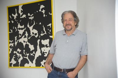 Claudio Tozzi, artista plástico - Foto: Cecília Bastos/USP Imagens