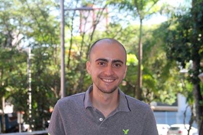 Nivaldo trabalha numa empresa norte-americana responsável por um aplicativo de relacionamentos (crédito foto: Henrique Fontes)