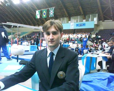 Árbitro no campeonato brasileiro adulto ginástica artística 2010, Curitiba