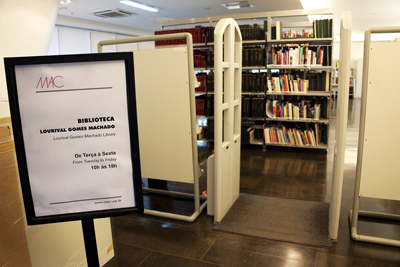 Biblioteca Lourival Gomes Machado - Foto: Cecília Bastos/Usp Imagens