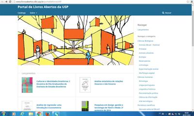 Portal de Livros Abertos da USP - Foto: Divulgação