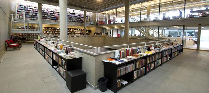 Livraria da EDUSP na Cidade Universitária, em São Paulo - Foto: Marcos Santos / USP Imagens