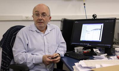 Michel Michaelovitch de Mahiques, professor do Departamento de Oceanografia Física, Química e Geológica do Instituto de Oceanografia da USP - Foto: Cecília Bastos/Usp Imagens