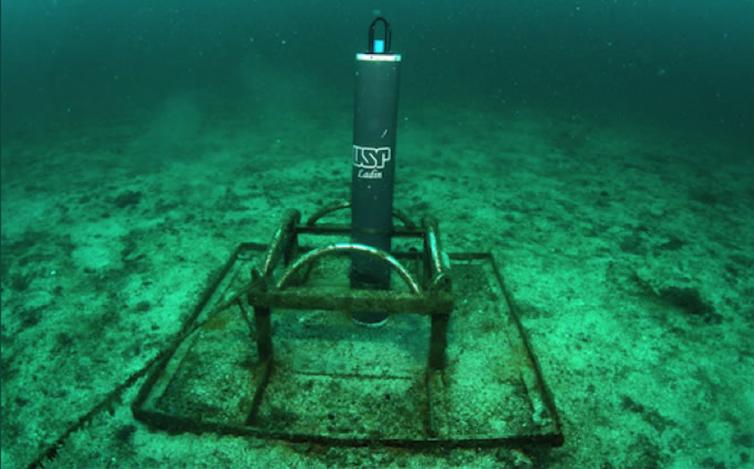 Rede de OceanPods possibilita, além de detecção e identificação, a localização de eventos sonoros - Foto: Divulgação/Poli