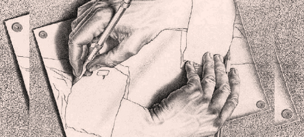 Ilustração de M. C. Escher - Foto: Wikimedia Commons