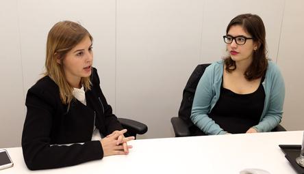 Ana Paula Braga e Mariana Ruzzi - Foto: Marcos Santos/USP Imagens