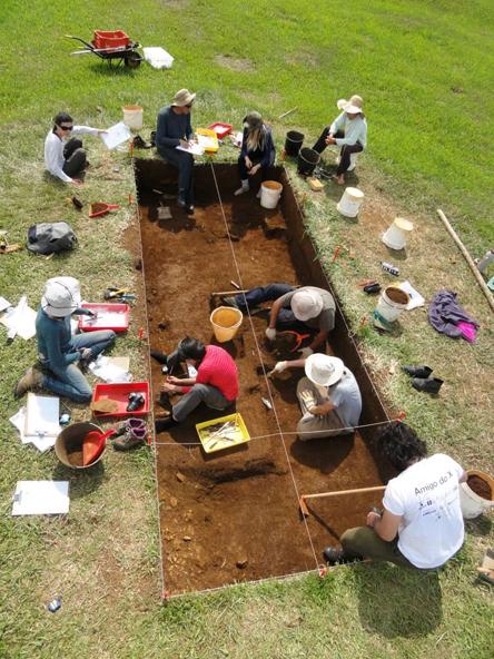 Escavação - Foto: Divulgação/Cedida pelo pesquisador