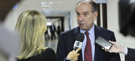 Foto: Aloysio Nunes, do PSDB-SP - Foto: Pedro França/ Agência Senado