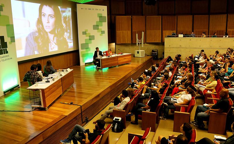 O evento do Observatório Americano de Ficção Televisiva (Obitel), na Biblioteca Brasiliana nos dia 8 e 9 de outubro de 2015 - Foto: Marcos Santos/USP Imagens
