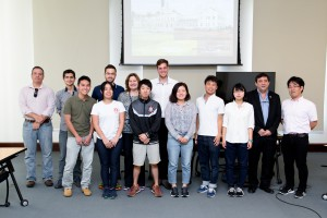 USP recebe alunos de universidade japonesa para estudar agricultura