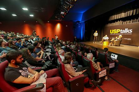 """USP Talks: """"Origens da vida e do universo: Como tudo começou"""" - Foto: Cecília Bastos/USP Imagens"""