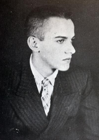 Paulo Emilio na juventude - Foto: Reprodução